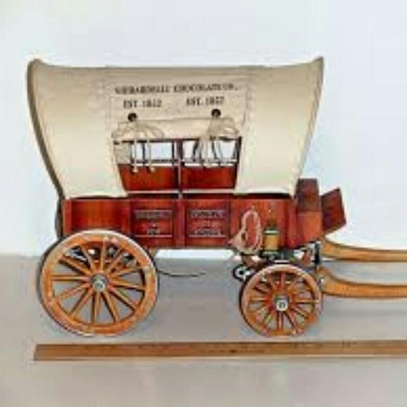 Ghirardelli Chocolate Coverd Wagin Vtg Accessories Vintage
